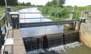 Waterdam in beekje