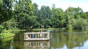 Pontje roeivijver streekpark Kienehoef