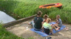 Picknicken aan de Dommel